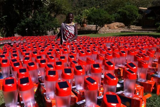 400 lamps for Waso Rongai village